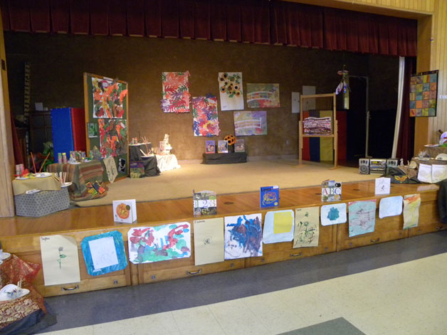 Art Show Stage
